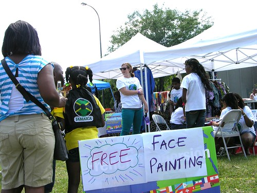 Carifest 2012 free face painting