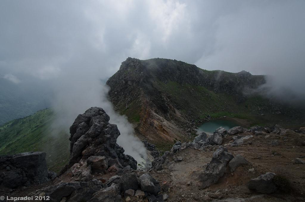 20120730 焼岳山頂