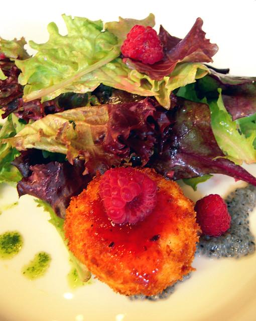 Fried Chevre Salad