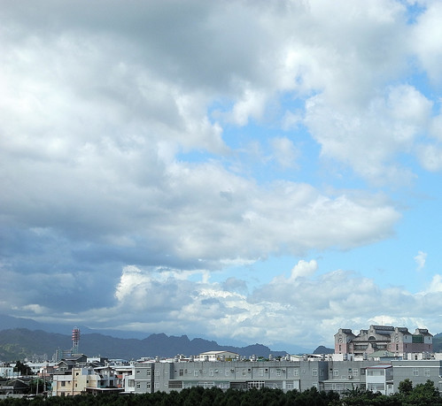 Threatening Sky over Taidong