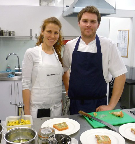 Marcela Moukacher and Josh Eggleton