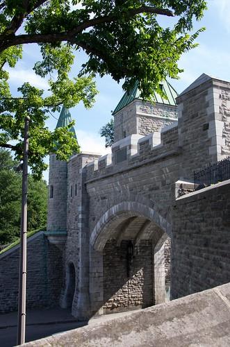 The door to Old Quebec