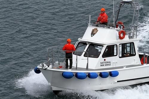 Glacier Bay - Ranger Boat