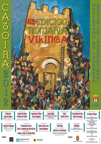 Catoira 2012 - Romaría Viquinga - cartel