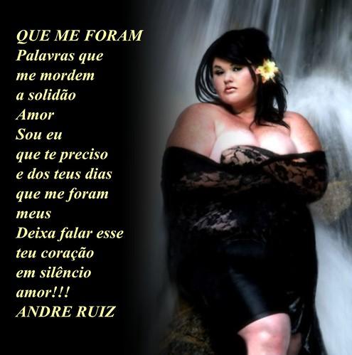 QUE ME FORAM by amigos do poeta