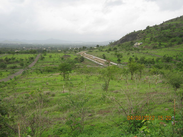 Silicon City Plots & Cut, Demolished & Destroyed Hill of XRBIA Hinjewadi Pune - Nere Dattawadi, on Marunji Road, approx 7 kms from KPIT Cummins at Hinjewadi IT Park - 141
