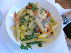 vegetable, vegetarian food, pasta, penne, food, dish, cuisine,