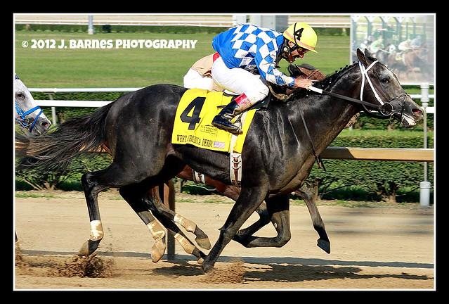 Macho Macho wins The 43rd Running of the $750,000 West Virginia Derby (2)