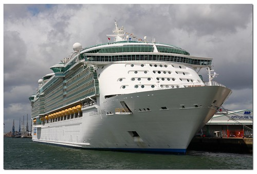 Independence of The Seas. Royal Caribbean Line Cruise Ship. Southampton 30/06/12. by Antsphoto