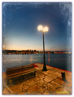 Chalkis - night view