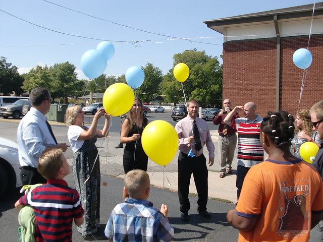 Getting Ready to Release the Balloons