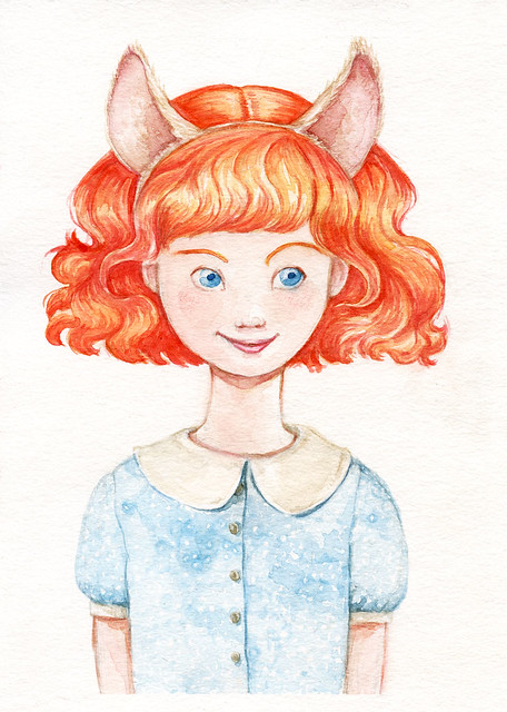 "Nº 1: Ginger  (""Animal role play ""serie)"