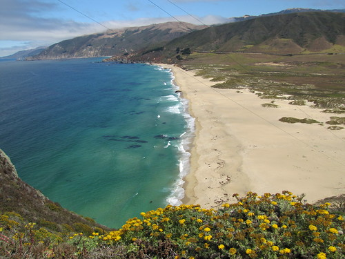 Gorgeous coastal view from Point Sur Lightstation