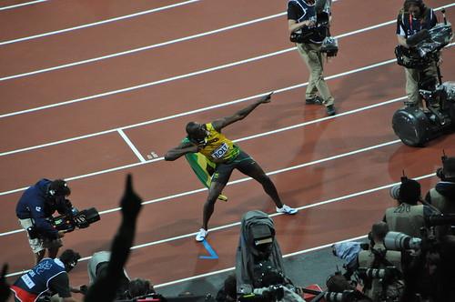 Atletismo - 08 - Gran Final de los 100 metros lisos - Usain Bolt - Londres 2012