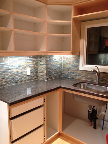 Day 19 Tiles are grouted