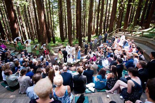 Bethmatts Interfaith Garden Wedding In The Treesoffbeat Bride