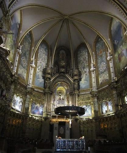 モンセラットの教会の祭壇 by Poran111
