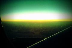 aurora, horizon, yellow, sunlight, light, line, green, darkness, sky,