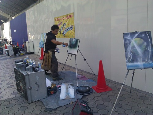 Street Artist who gave us his masterpiece by ngoldapple