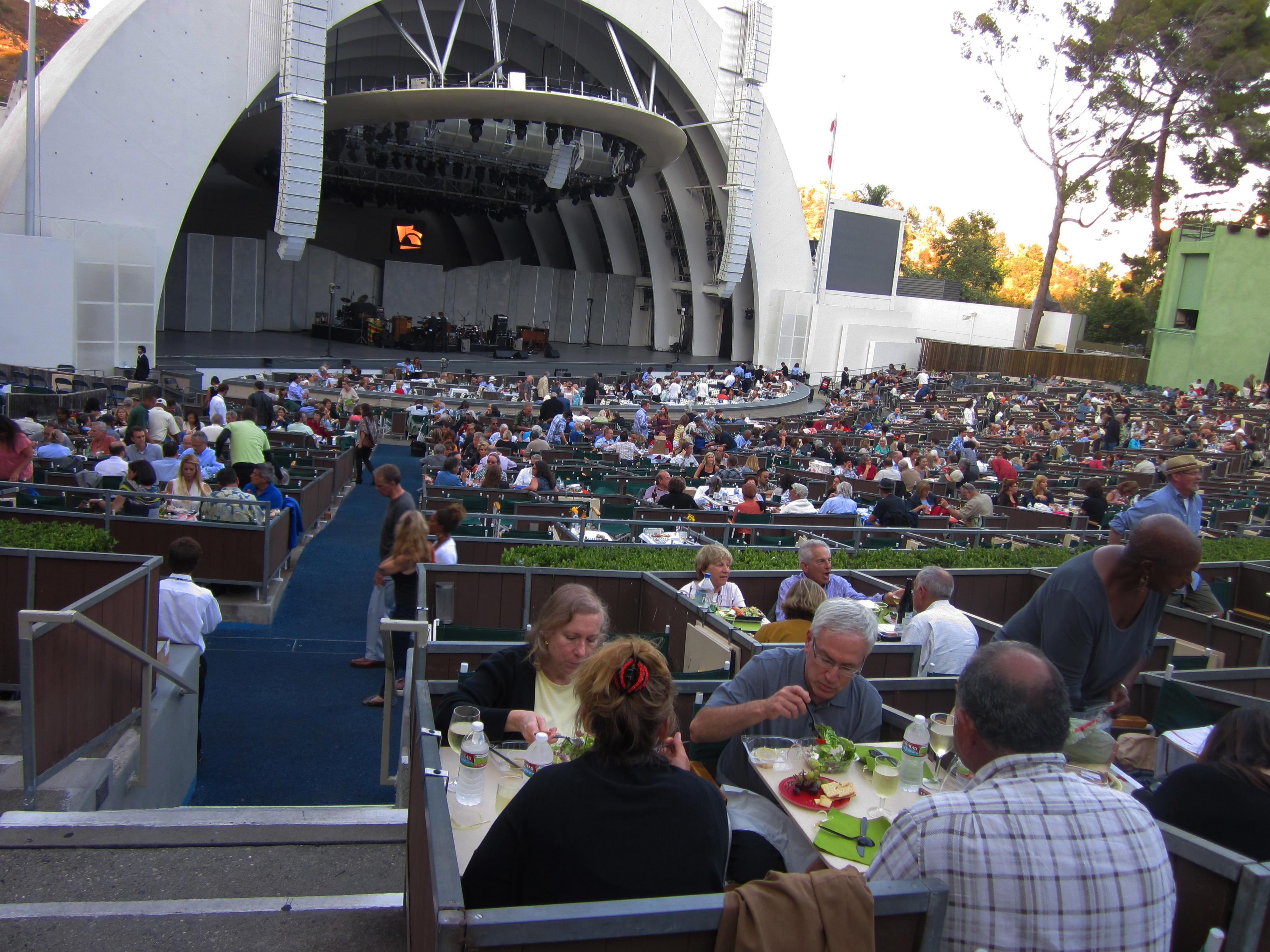 Box seats at hollywood bowl explore paul iwancio 39 s for Hollywood bowl terrace 5