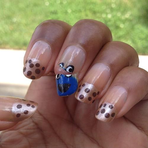 Broke nail