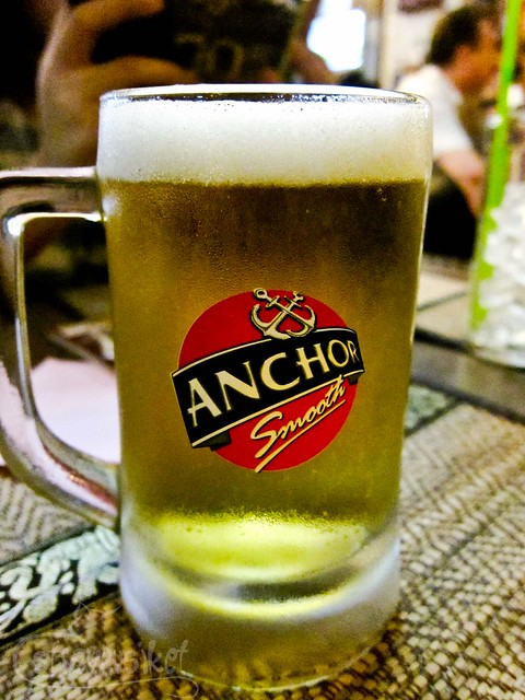 Overnight in Phnom Penh - Anchor Beer