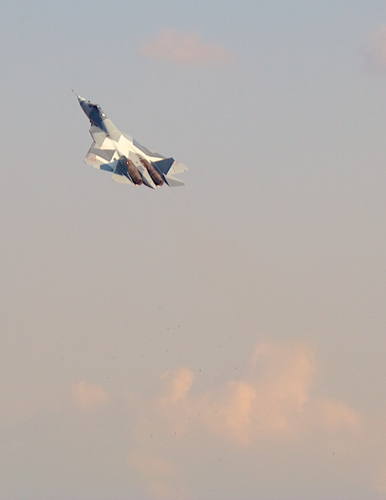 T-50 (PAK-FA) by Andrey Belenko, on Flickr