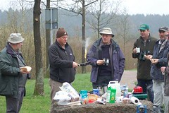 In anticipation of breakfast at Vosswinkel