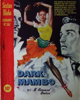 Dark Mambo - Sexton Blake Library - W. Howard Baker - No 361 - 1956