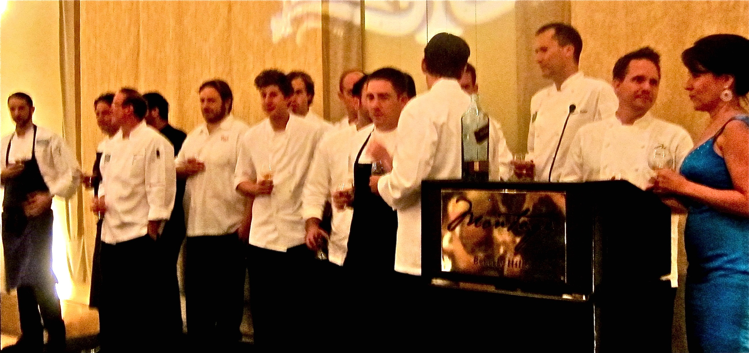 all the chefs who prepared the dinner