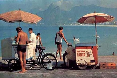 1968-FANTA-CART--ARPOADOR-BEACH-IPANEMA-RIO-DE-JANEIRO by roitberg