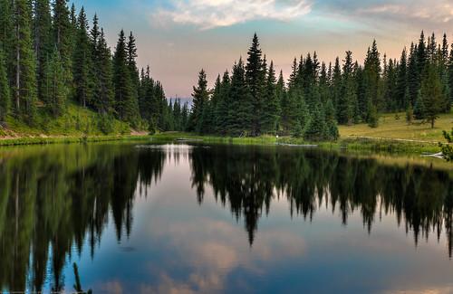 sunset lake rmnp hdr lakeirene tamronsp2470mmf28divcusd