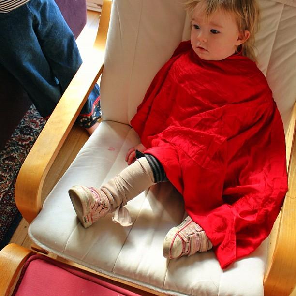 Doctor' Owlet's Pretend Patient. #bandage #silk