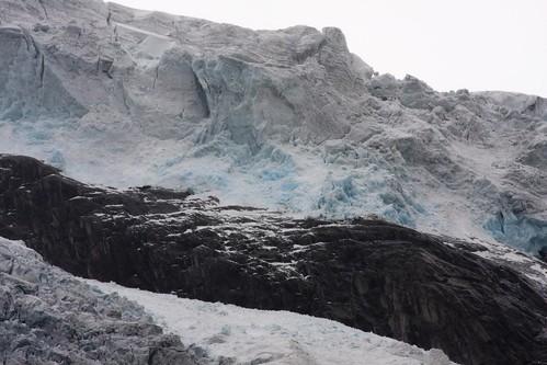 211 en el Glaciar de Brevatnet