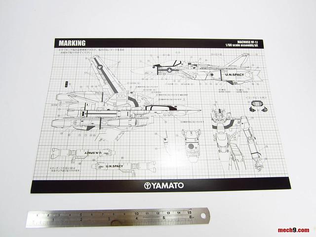 Yamato 1/60 VF-1A No Paint Kit