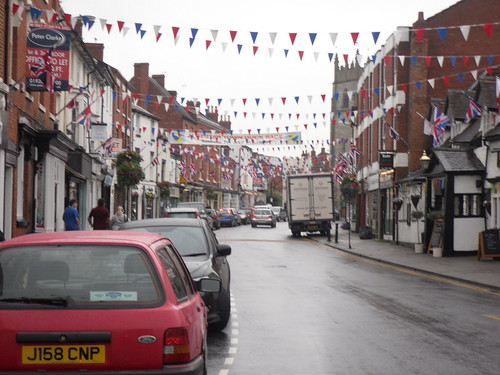 Diamond Jubilee and Olympic bunting 2