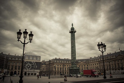 Urban Mythologies : Vendome (Place Vendôme, Paris) - Photo : Gilderic
