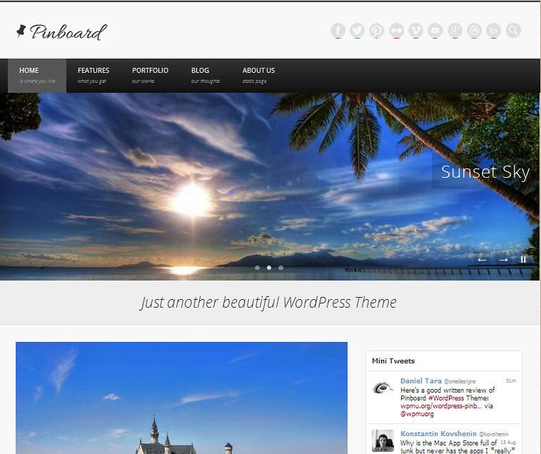 Pinboard - Theme WordPress miễn phí mới theo phong cách Pinterest 207