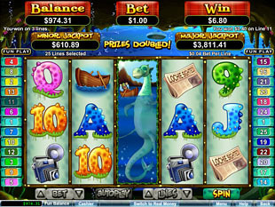 Loch Ness Loot Slot Free Games Feature