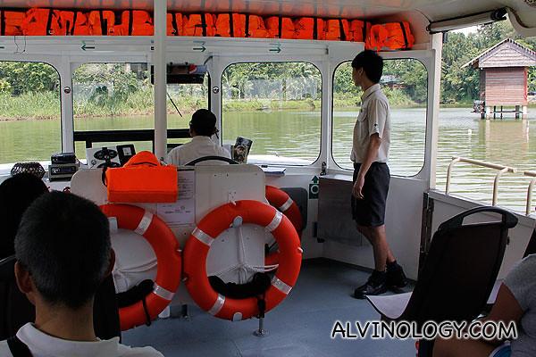 Zoo boat