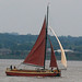 "Small photo of ""Phyllis"" Under Sail"