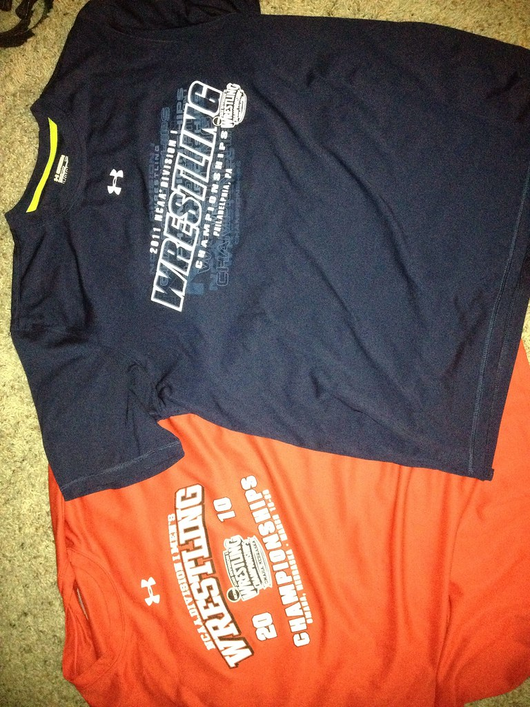 Under Armour NCAA wrestling shirts size M | Under Armour NCA