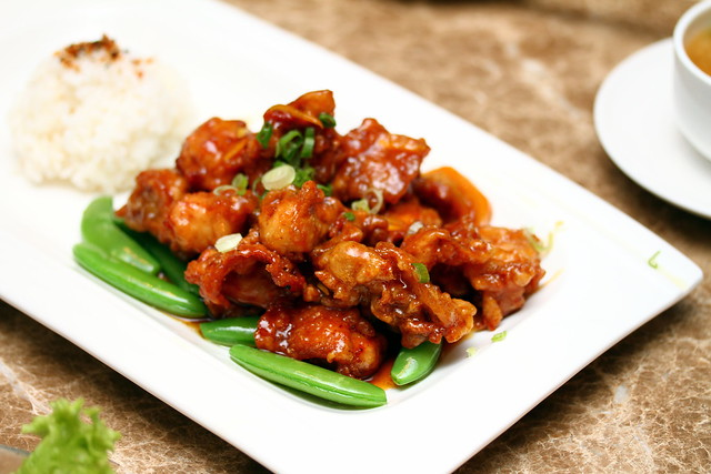 Bay Sushi: Orange Chicken