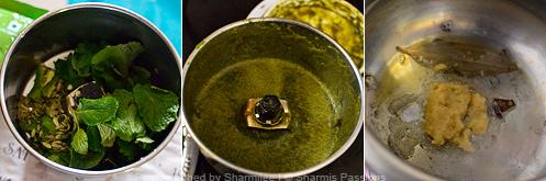 Mushroom Biryani Recipe - Step1