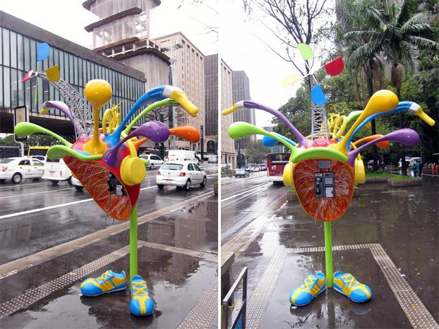 Call Parade - Orelhões em São Paulo Vivo
