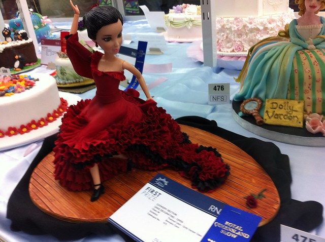 Queensland Cake Decorating competition display at Brisbane ...