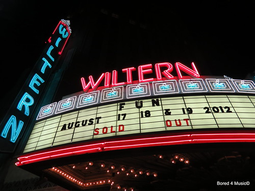 Fun. & Chiddy Bang @ The Wiltern [08/17/12]