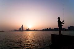 Sunrise over Abu Dhabi [Explored!]