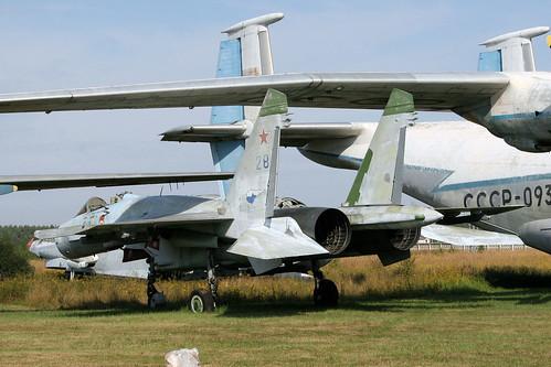 Sukhoi Su-27 28 blue