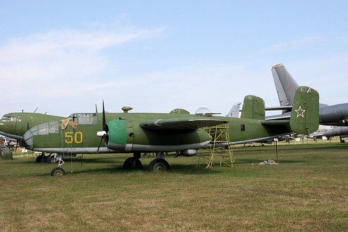 B-25D Mitchell 50 yellow